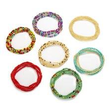 31 cores moda estilo boêmio cintura corrente criativo contas decoração cintura jóias corrente do ventre para meninas feminino jóias acessórios