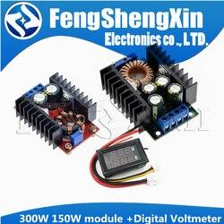 Понижающий преобразователь постоянного тока 9 а 300 Вт 150 Вт, понижающий преобразователь, модуль питания постоянного тока 0-100 в 10 А, цифровой в...