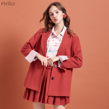 ARTKA 2020 Spring New Women's Suit Fashion Blazer and Skirt