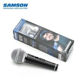 100% Samson R21s profesjonalny dynamiczny mikrofon ręczny z XLR do 1/4