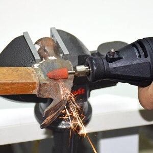 Image 5 - 110V 220V أدوات طاقة كهربائية مثقاب صغير مطحنة القالب حفارة الملمع مع الروتاري طقم أدوات عدة ل دريميل 3000 4000