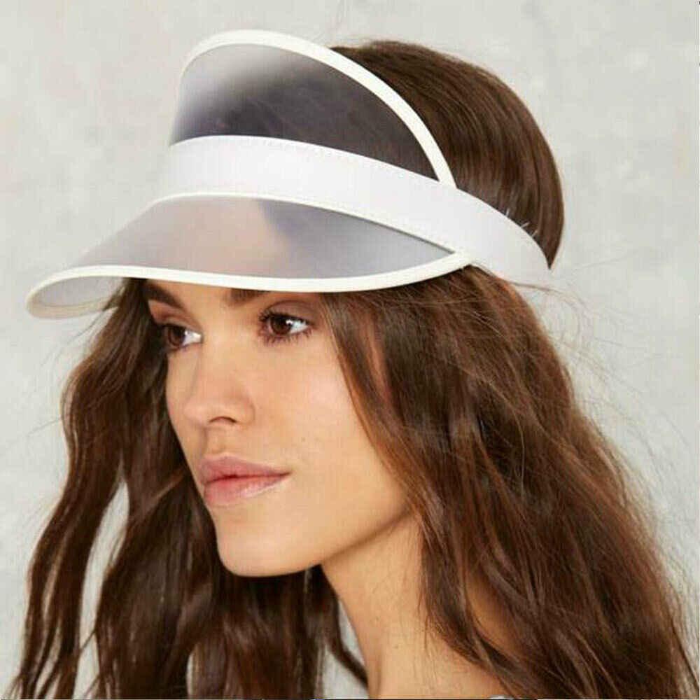 Unisex 야외 브림 썬 바이저 러닝 캡 여성 여름 안티 UV 스포츠 하이킹 비치 빈 탑 모자 Headscarf 테니스 모자 여성 남성