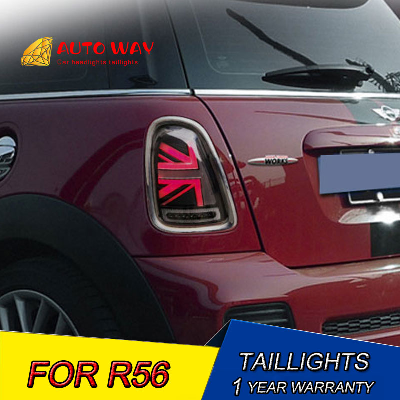 Car Styling LED R55 R56 R57 Taillight Case For Mini Cooper Clubman R55 R56 R57 Taillights 2007-2013 LED Rear Lamp Tail LED Lamp