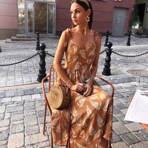 SINGRAIN женское богемное шифон платье платье корейский рюшами, пляжное цветочным сарафан рукавов