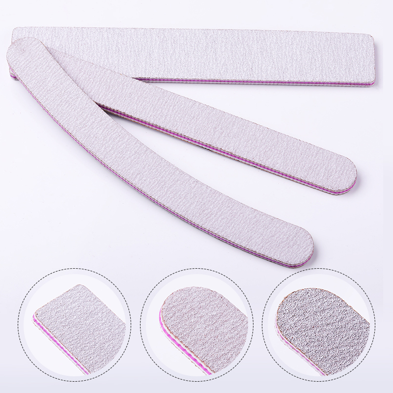 1 Pc Professional Nail File Sanding Buffer Straight Sanding Grinding Nail Buffer Polish Nail Art Pedicure Buffing Files Tools