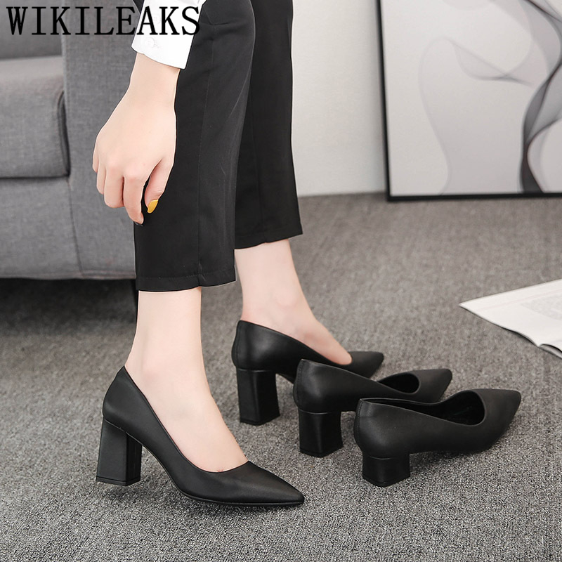Court Shoes Pointed Heels Office Shoes