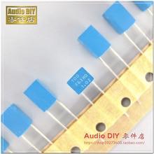 20PCS AV P12 100pF/63V 1% P5MM ARCOTRONICS Tin foil polypropylene film capacitor 101/63V 0.1nF/63V 100PF 101 63V