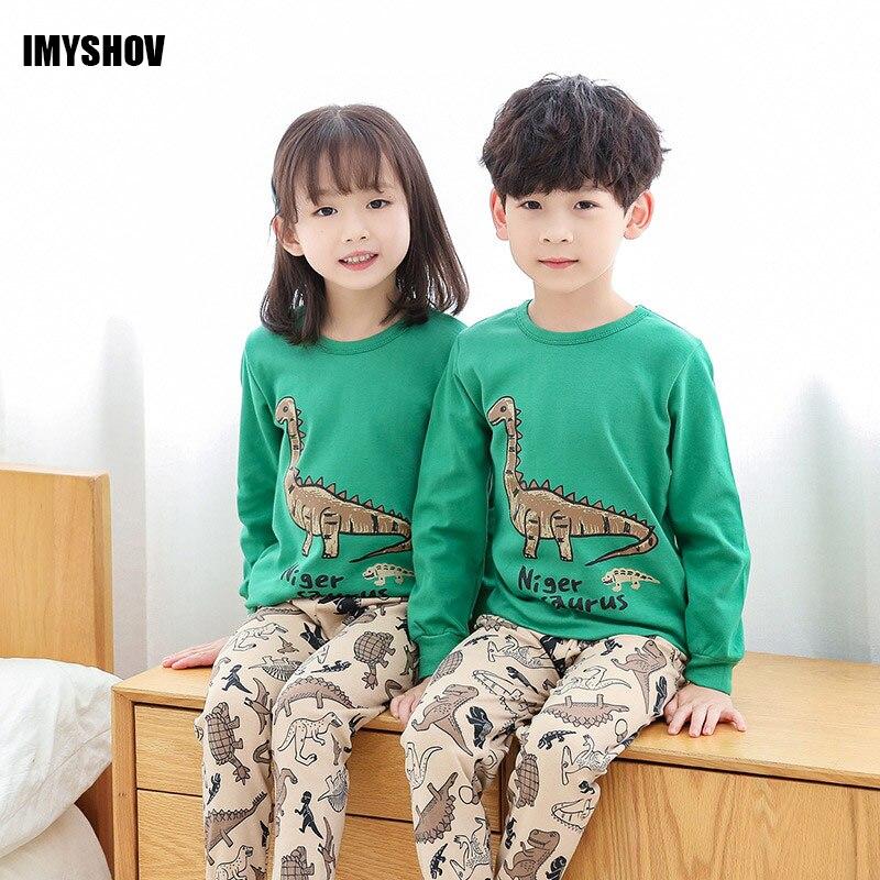 Kids Christmas   Pajamas   For Boys Pyjamas Enfant Girls Pjs Dinosaur   Pajama     Sets   Toddler Baby Children Girl Pijama Boy Sleepwear