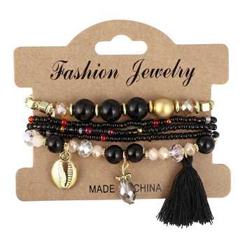 Women's Boho Style Stone Charm Bracelet Bracelets Jewelry New Arrivals Women Jewelry Metal Color: SL1516