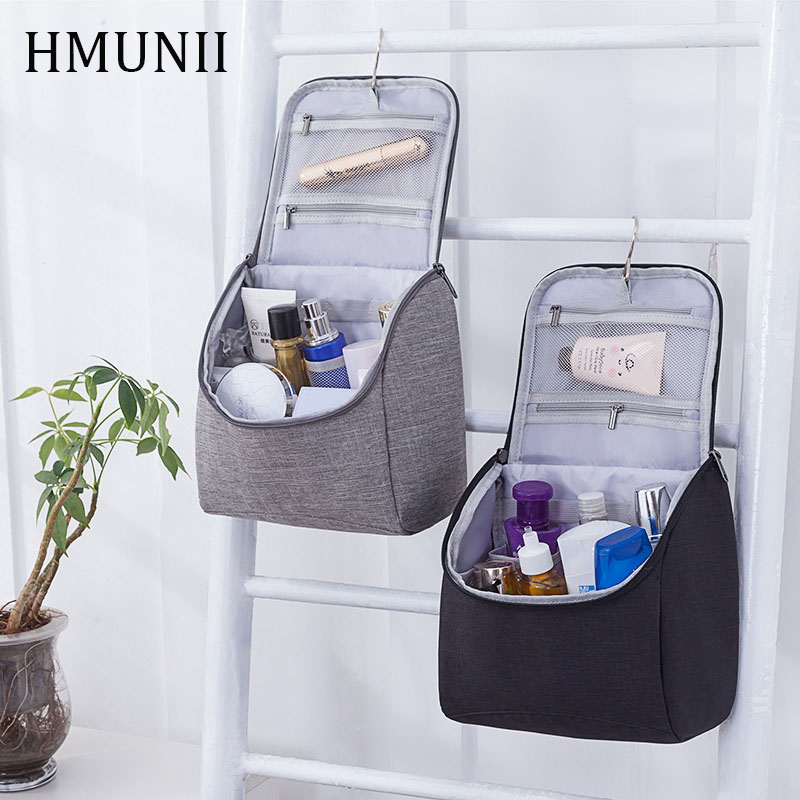 HMUNII  Cationic Fabric Large Capacity Portable Travel Storage Bag, Cosmetic Organizer Tote Bag, Hot Fashion Travel Accessories
