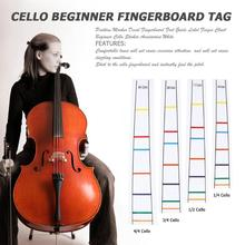 Position Marker Decal Fingerboard Fret Guide Label Cello Sticker Accessory Musical Instruments Cello Accessories 2019 Hot Sale