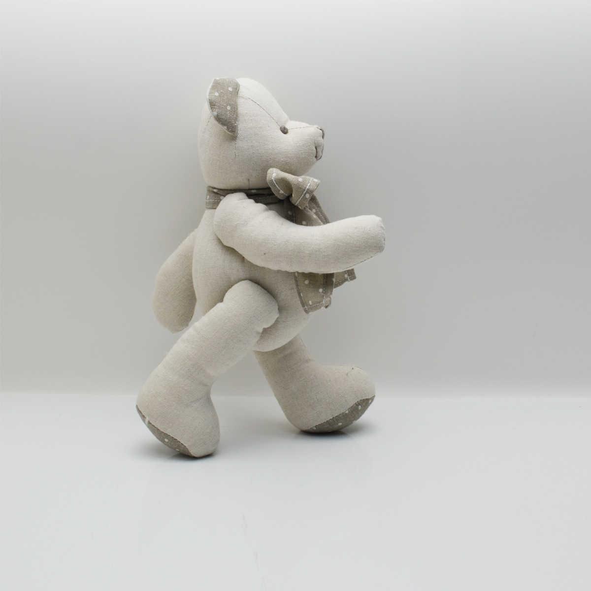 15cm Premium uroczy miś pluszaki lalki piękne dziecko Nursey tkaniny zabawki bawełniane ręcznie robione Mini wspólne niedźwiedź pluszowe zabawki
