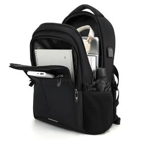 Image 5 - BaLang Laptop sırt çantası 15.6 inç şarj USB bağlantı noktası bilgisayar sırt çantaları erkek su geçirmez erkek iş sırt çantası kadın seyahat çantaları