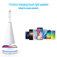 Wireless Power Smart Sound Light Music Table Lamp Cycle Charging LED Music Audio Table Lamp NK Shopping