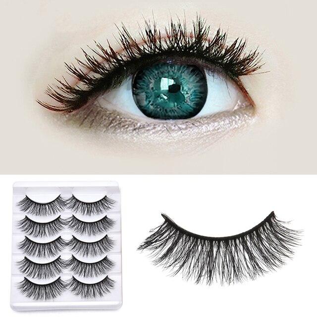 5/3 Magnet Eyelash Magnetic Liquid Eyeliner & Magnetic False Eyelashes & Tweezer Set Waterproof Long Lasting Eyelash Extension 1