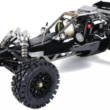 Rovan ру Радиоуправляемый черный 45cc покрышки Багги 1/5 весы готовы к запуску