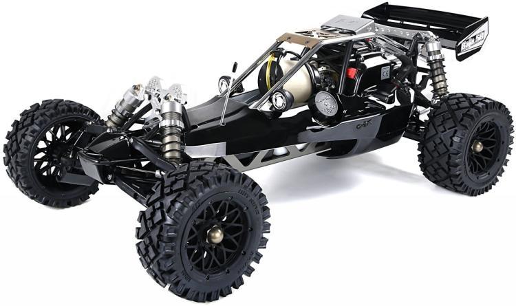 Rovan RC Radio Control Black 45cc Gas Baja Buggy 1/5 Scale Ready to Run
