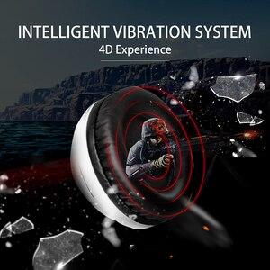 Image 3 - Somic G941 gamingowy zestaw słuchawkowy 7.1 wirtualny dźwięk przestrzenny słuchawki z mikrofonem słuchawki Stereo wibracje na komputer stancjonarny Laptop