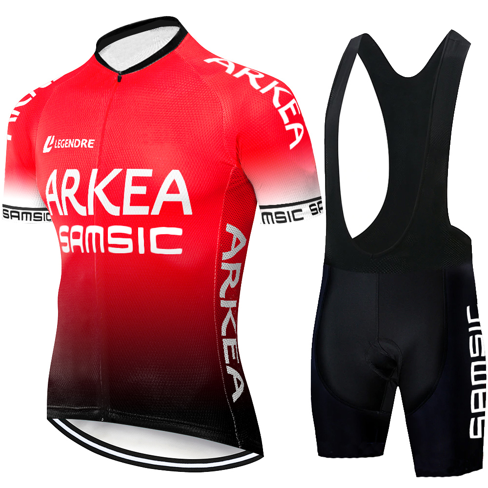 2020 arkea samsic Cycling Jersey Set Summer Mountain Bike Clothing Pro Bicycle Cycling Jersey Sportswear Suit Maillot Ropa