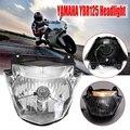 Мотоциклетный передний головной светильник для Yamaha Ybr 125  головной светильник  запчасти для мотоцикла  автомобильный светильник в сборе