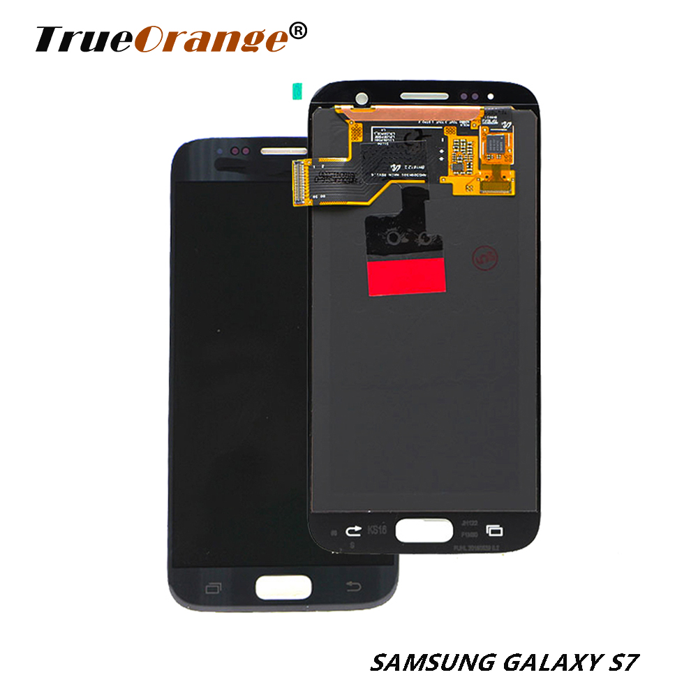 For <font><b>SAMSUNG</b></font> <font><b>Galaxy</b></font> <font><b>S7</b></font> <font><b>LCD</b></font> 5.1 Display SM-G930/G930F Touch Screen Digitizer Assembly <font><b>with</b></font> <font><b>Frame</b></font> Replacement Service pack image