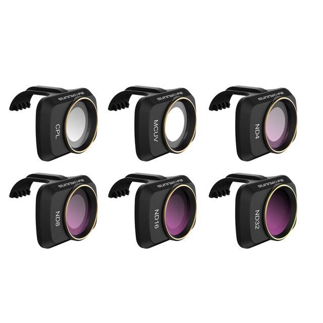 ND Ống Kính Bộ Lọc Cho DJI Mavic Mini MCUV ND4 ND8 ND16 ND32 CPL ND/PL Bộ Lọc Bộ Lọc cho DJI Mavic Mini Gimbal Camera