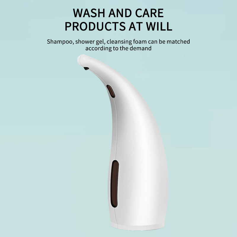 H63c7debf4cdc47759e5cd789207cc4ee0 Automatic Soap Dispenser 300ml Non-Contact Waterproof Electric Soap Dispenser Shampoo Bottle For Bathroom Kitchen Hotel Home