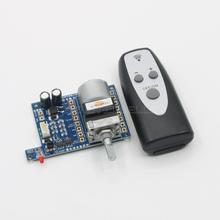 Microprocesador de placa de Control de volumen remoto con potenciómetro ALPS 50K * 2/ 100K * 2, preamplificador de potencia