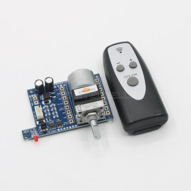 Power amplifier Preamplifier Remote Volume Control Board Microprocessor With ALPS 50K*2/ 100K*2 Potentiometer