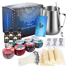 DIY Scented Candle Making Kit Soy Wax Can Wick Holder Perfect Gifts For Beginners
