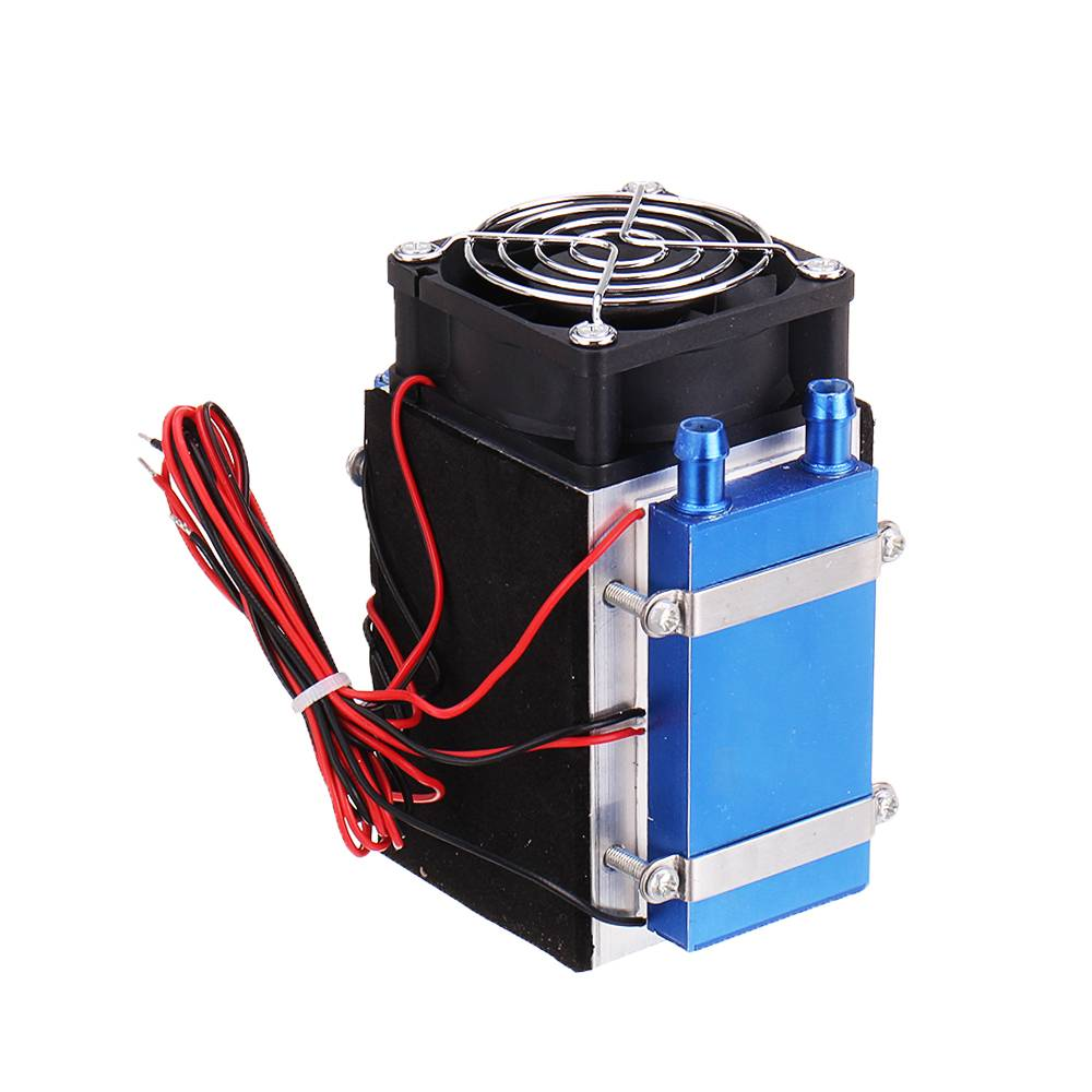 NEW 4 Chip 12V 280W Electronic Semiconductor Refrigeration Module Water Cooling Heat Sink Semiconductor Cooler