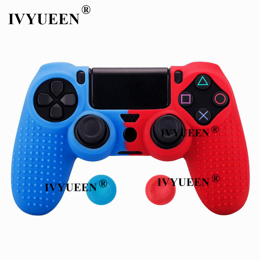 for Sony PlayStation dualshock 4 ps4 pro slim controller silicone case skin 08