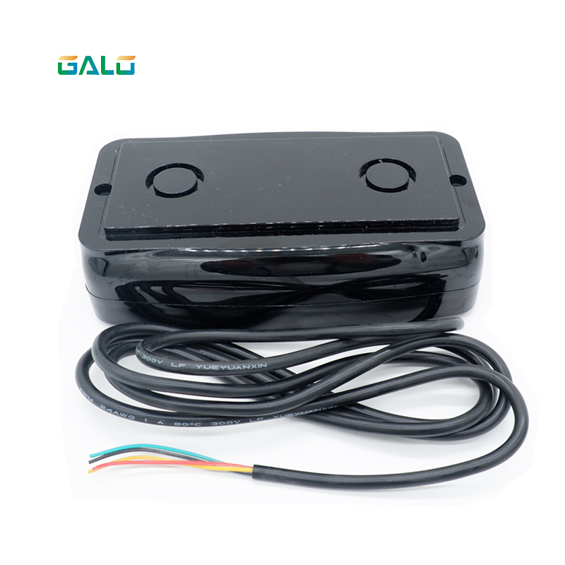 DC12V Wireless Vehicle Detector Infrared Sensor 1~8 M Detect Distance Replace Loop Detector For Car Parking System
