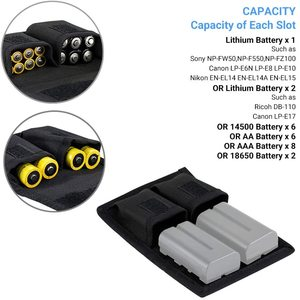 Image 2 - NP FZ100 NP FW50 Caméra Batterie Pochette Étuis De Carte Mémoire Pour SD CF POUR Sony A9 A7S A7R IV A7 III II A6600 A6400 A6300 A6100 A6000