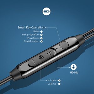 Image 5 - Langsdom 메탈베이스 유선 헤드폰 3.5MM 이어폰 마이크 Hifi 이어폰 헤드셋 전화 Xiaomi 삼성 화웨이