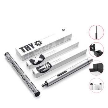 Cordless Electric Screwdriver WOWSTICK 1P 18 Screwdriver Bits In Total for DIY Tools Kit for Phone