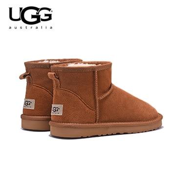 Original UGG Boots 5854 Women Uggs Snow Shoes Fur Warm Winter Boots Women's Classic Short Sheepskin Snow Boot Uggings Australia