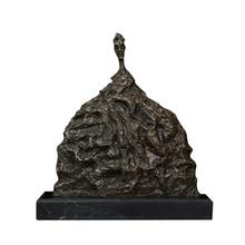 Artshom AH-493 Giacometti Bronze Statue Sculpture Home Decorative Sculpture Collectible Bronze Decor Statue Home Decor Statue