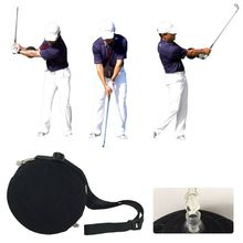 Golf Swing Training Aid Set Golf Trainer Practice Ball Swing Posture Correction Inflatable Ball newly 2 finger silicone shot lock basketball training posture correction device ball shooting trainer sd669