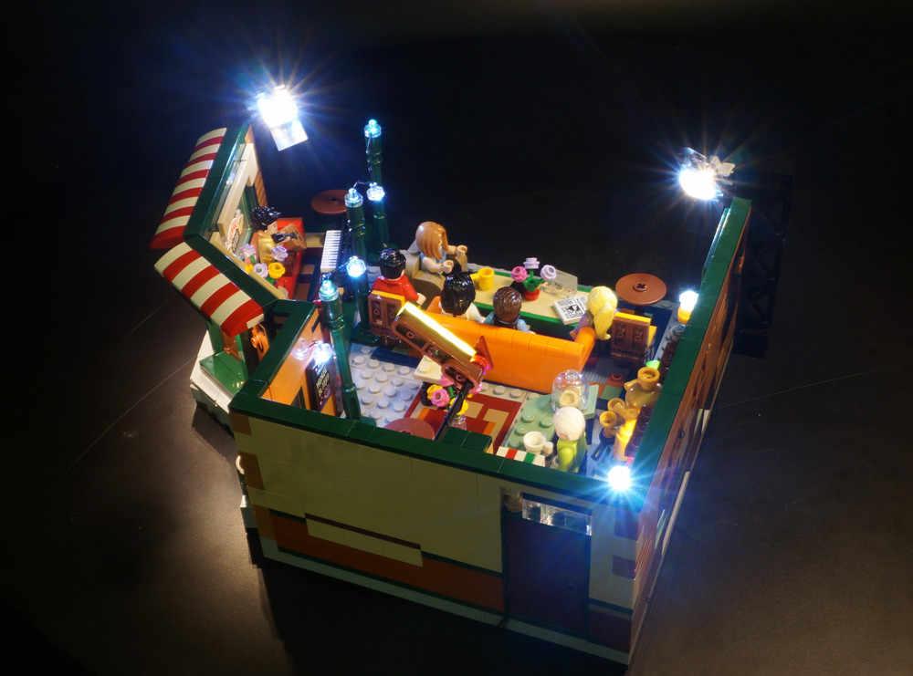 Đèn Led Bộ Ý Tưởng Tương Thích Legoed 21319 Truyền Hình Người Bạn Trung Shop Perk Khối Xây Dựng Đồ Chơi (Không Bao Gồm Các Khối Bộ)