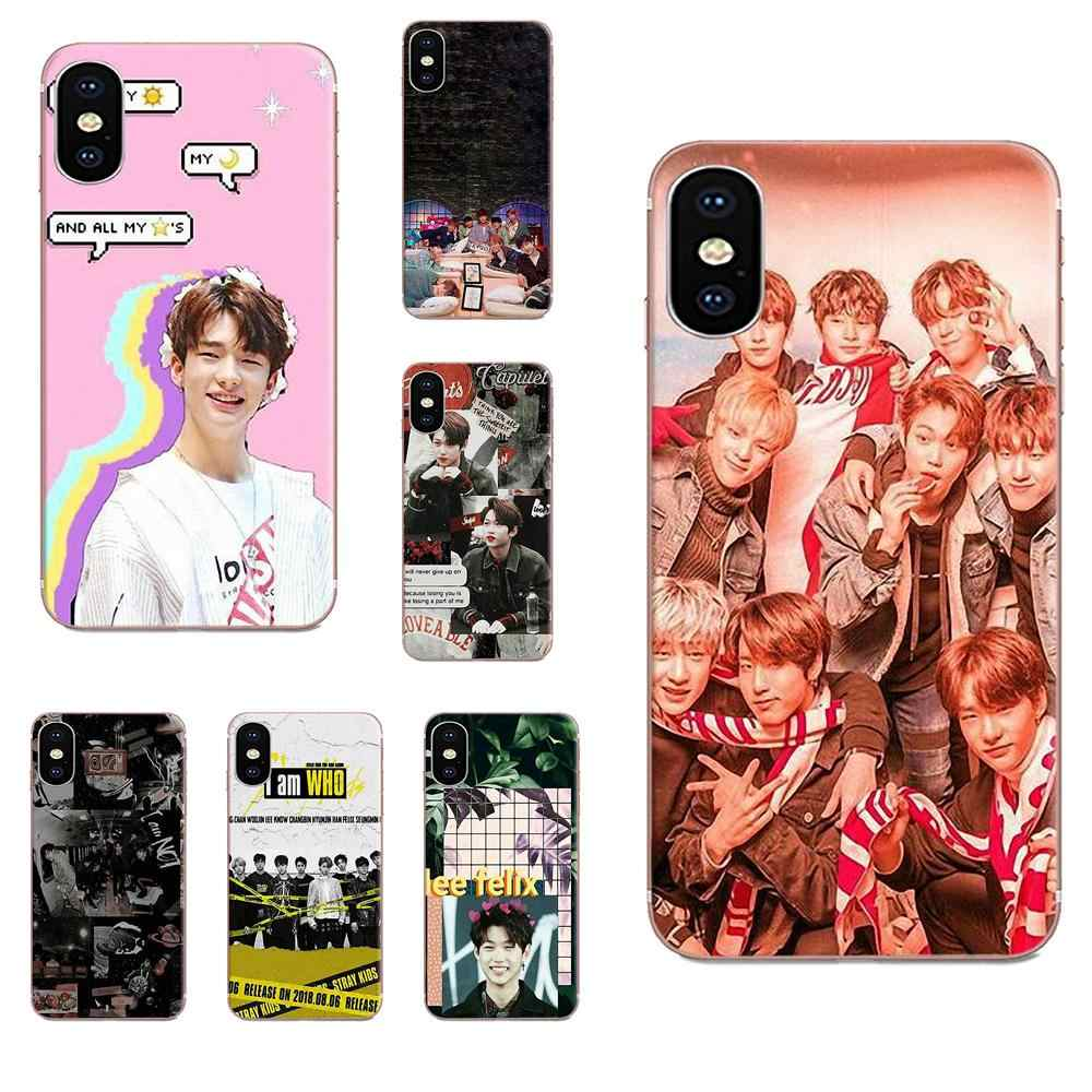 Transparent Cover Case For Huawei Honor 4C 5A 5C 5X 6 6A 6X 7 7A 7C 7X 8 8C 8S 9 10 10i 20 20i Lite Pro Stray Kids I Am You Mv