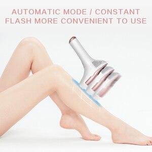 Image 2 - Free shipping MLAY Electric IPL &Laser Epilator Permanent Painless Hair Removal Face Body Armpit Bikini Device FDA 500000 shots