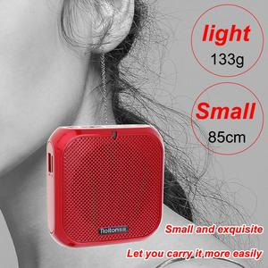 Image 3 - Rolton K400 3 kolory przenośny przewodowy Mini głośnik megafon wzmacniacz głosu głośnik mikrofon talii zespół klip
