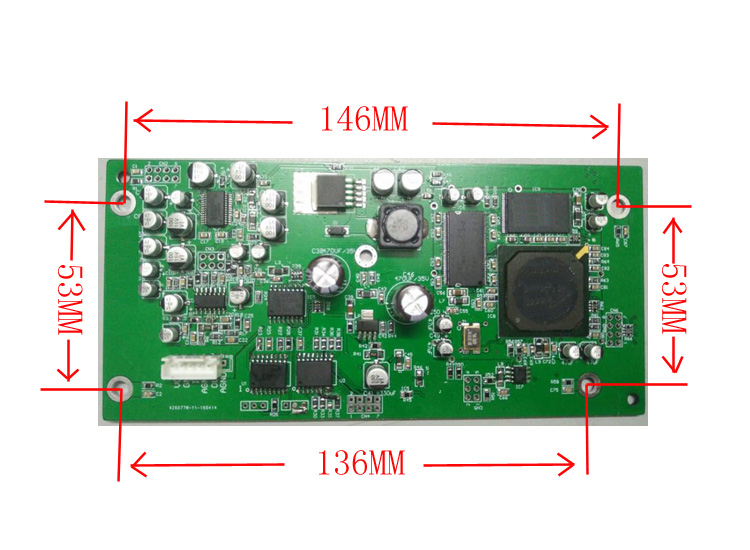Microphone Anti-whistle Feedback Suppressor Module Stage KTV Special Automatic Frequency Shifter Processing Board