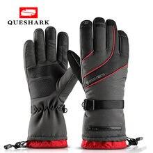 Водонепроницаемые Лыжные Сноуборд снегоходные перчатки флисовые