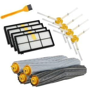 Image 1 - 14PCS HEPA Filters Brushes Replacement Parts Kit for IRobot Roomba 980 990 900 896 886 870 865 866 800 Accessories Kit