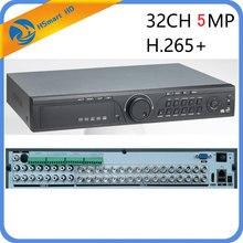 CCTV cámara de vídeo AHD IP de 32 canales dispositivo de grabación de vídeo de 5MP, 32 canales, AHD, H.265, CVI, TVI, NVR, 1080P, HDMI, compatible con cámara analógica AHD, 16 canales, entrada de Audio híbrida HD DVR