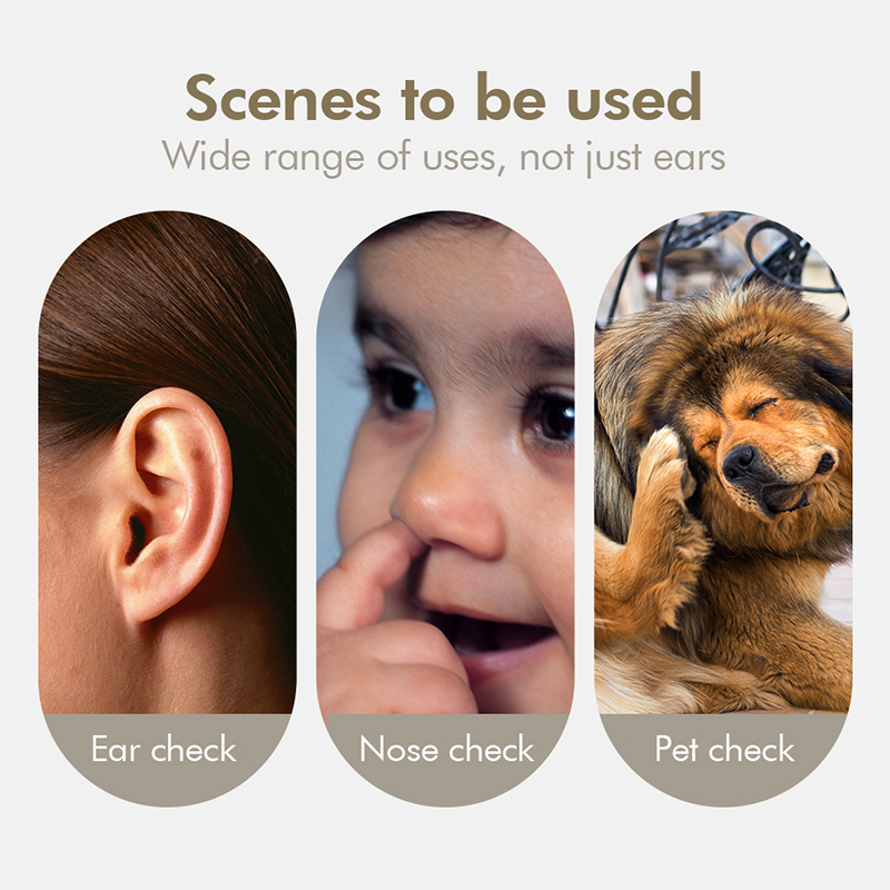 Wifi Ear Otoscope 3.9mm Visual HD Ear Endoscope Inspection Snake Camera With 6 Adjustable LED Lights for Android IOS iPhone