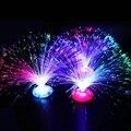 Bunte LED Fiber Nachtlicht Lampe Romantische Kleine Nacht Licht Für Chrismas Geschenk Bunte Blinkende Licht Leucht Spielzeug Nach Dem Zufall
