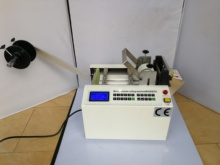 DG 100B automatic computer tube cutting machine,  ear band,  bridge of nose iron wire Silica gel tube and PVC tube cutting